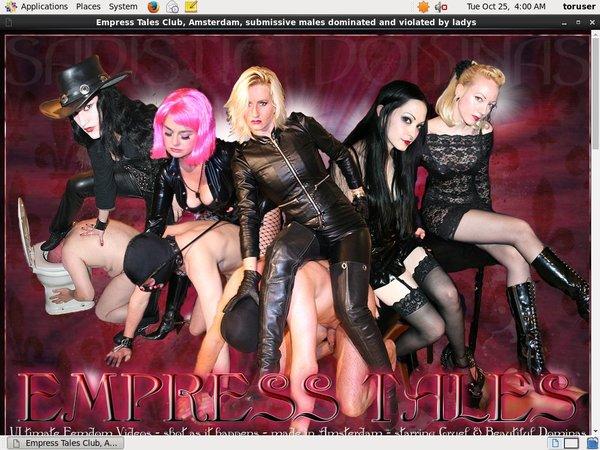 Account Empress Tales Club Gratis