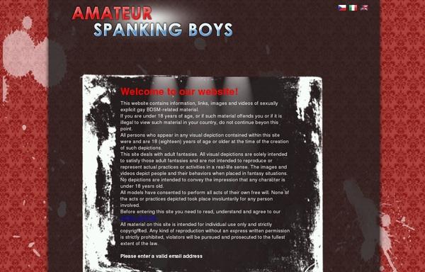 Amateur Spanking Boys Creampie