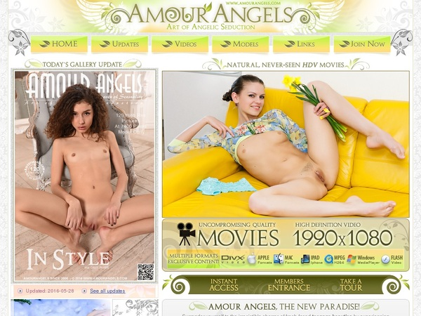 Amour Angels With Canadian Dollars