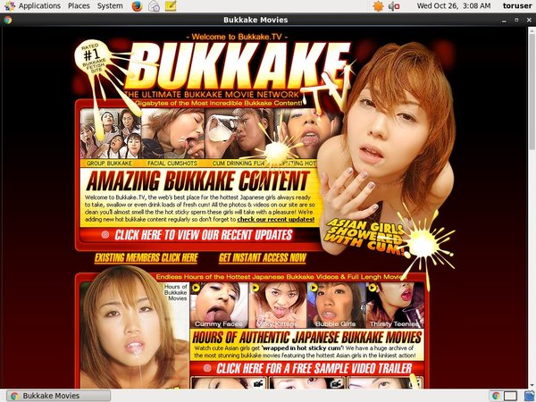 Bukkake TV Discount Member