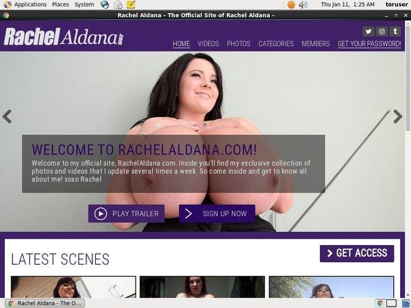 Buy Rachel Aldana Account