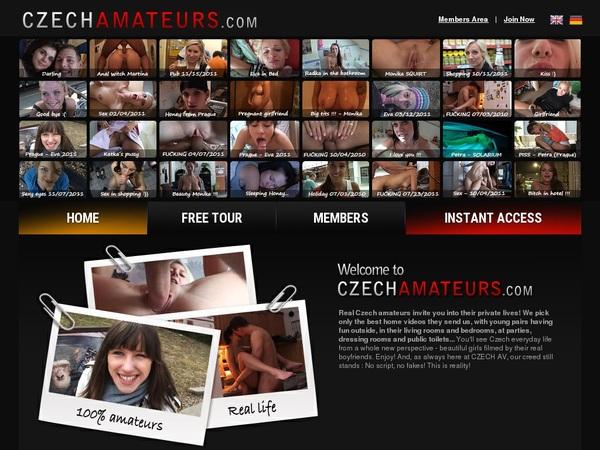 Cracked Czechamateurs Account
