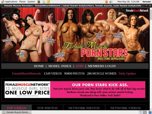 Female Muscle PornStars Idealgasm Deal