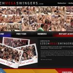 Free Czech Mega Swingers Accounts And Passwords