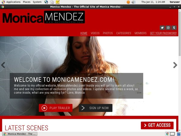 Monicamendez.com Members Discount