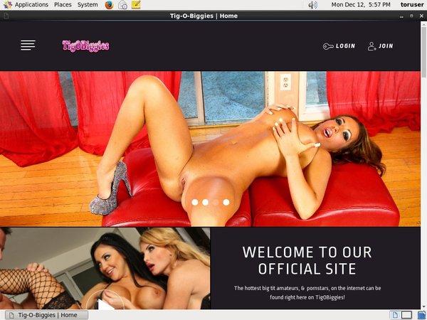 TigOBiggies Billing Page