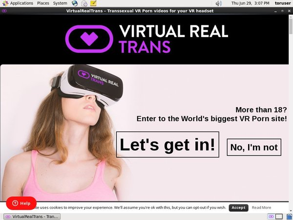 Virtual Real Trans Site Review