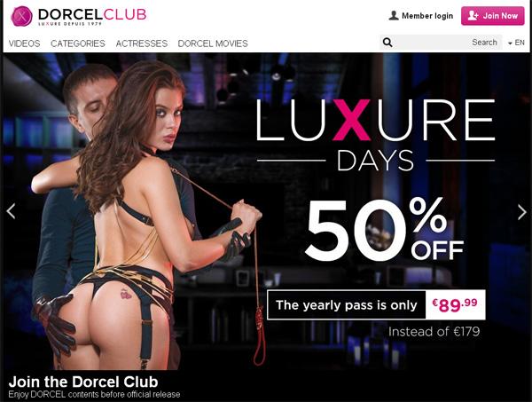 Dorcelclub.com Passwords 2016