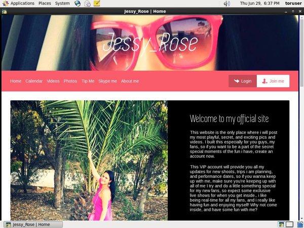 Jessy_rose.modelcentro.com Checkout Page