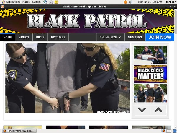 Black Patrol Account Online
