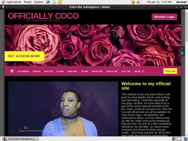 Officiallycoco.com Try Free