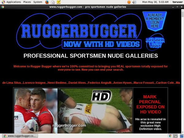 Sign Up Ruggerbugger.com Free