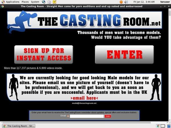 Account Thecastingroom.net Gratis