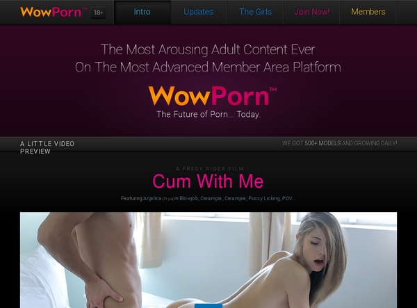 Free Wow Porn Trial