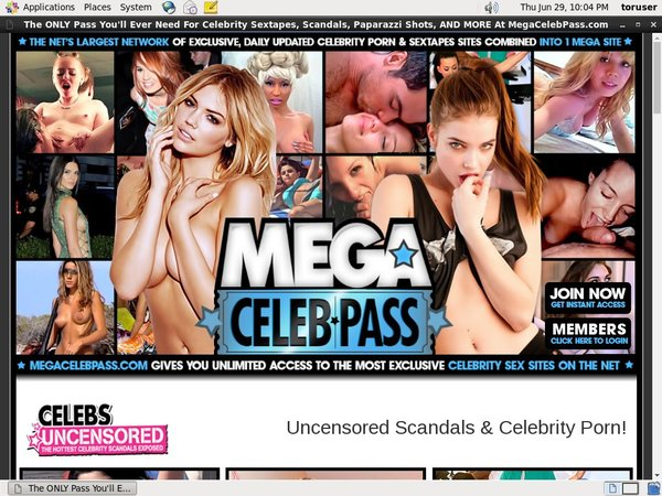 Mega Celeb Pass Account