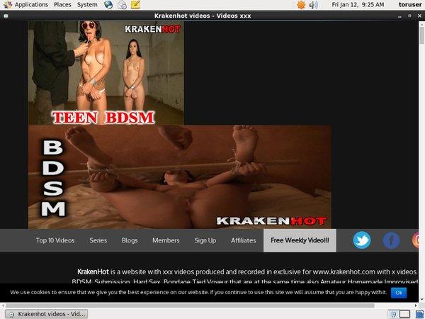 Videos Krakenhot.com