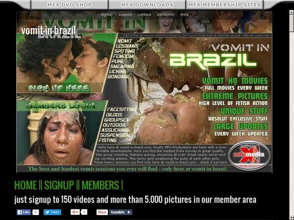 Vomit-in-brazil.com Porn Videos