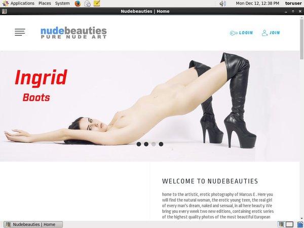 Nudebeauties.modelcentro.com Site