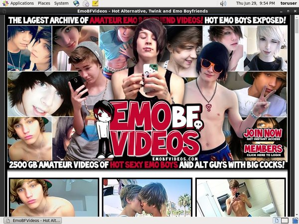 Emo BF Videos Join Form