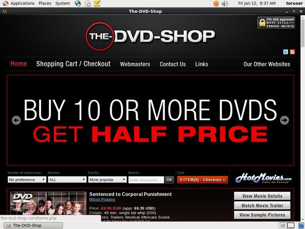 The DVD Shop Bug Me Not